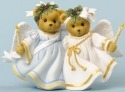 Cherished Teddies 4034602 Angels Came Down and Love Shone All Around
