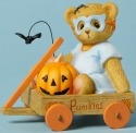 Cherished Teddies 4040452 Bear Figurine Cart Mask