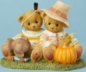 Cherished Teddies 4040454 Bear Figurine Pilgrim Indian
