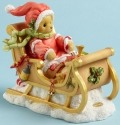 Cherished Teddies 4040461 Bear Sled Gifts