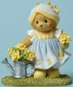 Cherished Teddies 4044693 Bear Daffodils Figurine
