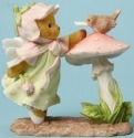 Cherished Teddies 4044696 Sending Letter Bird Figurine