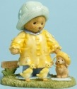Cherished Teddies 4045935 Bear Raincoat Puppy Figurine
