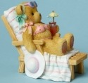 Cherished Teddies 4045993 Sunbathing Drink Figurine