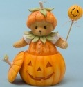 Cherished Teddies 4047367 Dressed Pumpkin Figurine