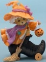 Cherished Teddies 4047369 Witch Inside Boot LE Figurine