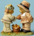 Cherished Teddies 4047370 Indian Pilgrim Corn Figurine
