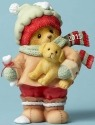 Cherished Teddies 4047375 Bear Holding Puppy D Figurine