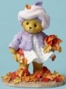 Cherished Teddies 4049731 Picking Up Leaves Figurine