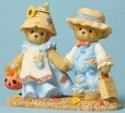 Cherished Teddies 4053446 Dressed Scarecrow Figurine
