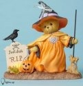 Cherished Teddies 4053447 Witch Broom Lited LE Figurine