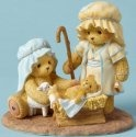 Cherished Teddies 4053474 Joseph Mary and Baby Figurine