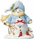 Cherished Teddies 4059138 Snow Bear with Cardinals