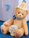 Cherished Teddies 466239 Seven Is As Sweet As Honey 7th Birthday