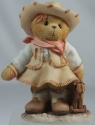 Cherished Teddies 466271 Sierra You're My Partner Cowgirl With Toy Cow