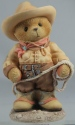 Cherished Teddies 466298 Roy Im Your Country Cowboy With Rope