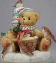 Cherished Teddies 466328 Paul Good Friends Warm The Heart Boy W Birds