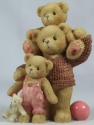 Cherished Teddies 661791 Dad Drake And Dustee