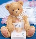 Cherished Teddies 911291 Color Me Five 5th Birthday