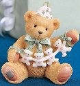 Cherished Teddies 911305 Unfolding Happy Wishes Four You 4th Birthday