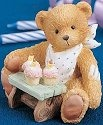 Cherished Teddies 911313 Three Cheers For You 3rd Birthday
