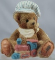 Cherished Teddies 911739 Thomas Chuggin Along Brother Bear Series