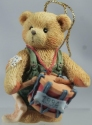 Cherished Teddies 912891 I'll Play My Drum For You Ornament 1994 Dated
