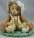 Cherished Teddies 916331 Becky Springtime Happiness Bear With Chicks
