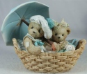 Cherished Teddies 950564 Beth & Blossom Friends Are Never Far Apart