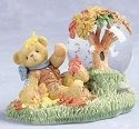 Cherished Teddies 979252 November Mini Waterball