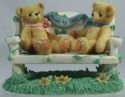 Cherished Teddies CRT240 Heart To Heart Two Bears On Bench Event