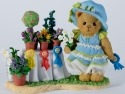 Cherished Teddies CT1201X MOFGirl Flowers 1st Figurine