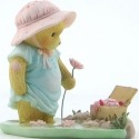 Cherished Teddies CT1301X MOF Bear Picnic Bask Figurine