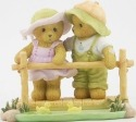 Cherished Teddies CT1303X MOF Bears On Bridge Figurine