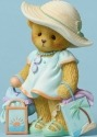 Cherished Teddies CT1501X MOF Bear Beach Bag Figurine