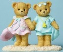 Cherished Teddies CT1502X MOF Bears Walking Ha Figurine