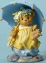 Cherished Teddies CT1601X MOF Walking Umbrella Figurine