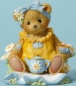Cherished Teddies CT1603X MOF Sitting Having T Figurine