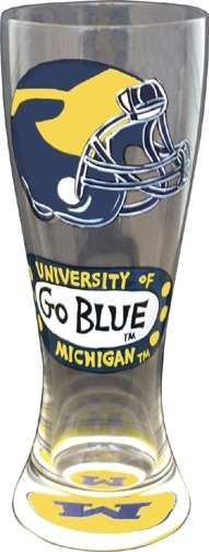 Special Sale 80131 Collegiate Collectibles 80131 Michigan Wolverines Pilsner Glass