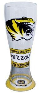 Collegiate Gifts 80721 Set of 6 Missouri Tigers Pilsner Glasses