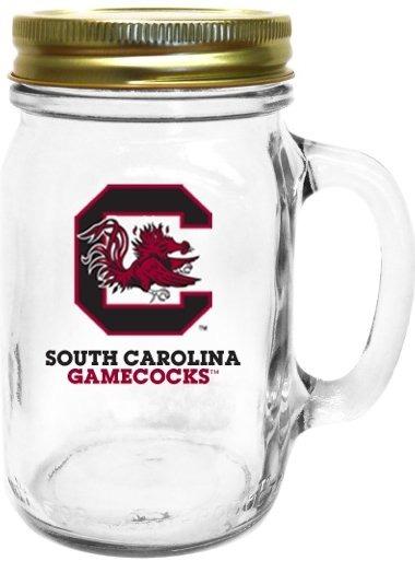 Collegiate Gifts 85121 Set of 6 South Carolina Gamecocks All American Mugs