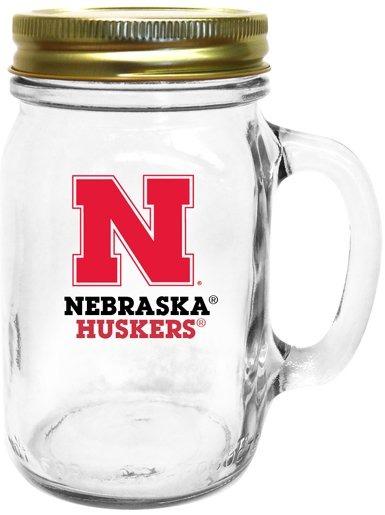 Collegiate Gifts 85171 Set of 6 Nebraska Cornhuskers All American Mugs
