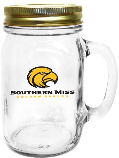 Collegiate Gifts 85231 Set of 6 Southern Miss Golden Eagles All American Mugs