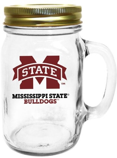 Collegiate Gifts 85261 Set of 6 Ole Miss Rebels State All American Mugs