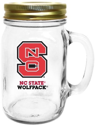 Collegiate Gifts 85531 Set of 6 NC State Wolfpack All American Mugs