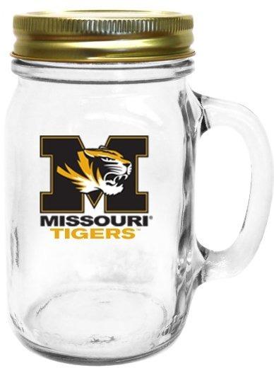 Collegiate Gifts 85721 Set of 6 Missouri Tigers All American Mugs