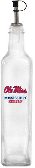 Collegiate Gifts 86191 Set of 2 Ole Miss Rebels All American Oil Bottles