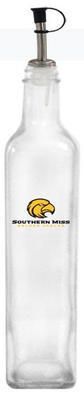 Collegiate Gifts 86231 Set of 2 Southern Miss Golden Eagles All American Oil Bottles