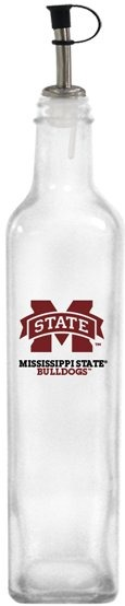 Collegiate Gifts 86261 Set of 2 Ole Miss Rebels State All American Oil Bottles