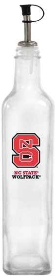 Collegiate Gifts 86531 Set of 2 NC State Wolfpack All American Oil Bottles